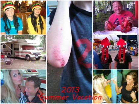 2013 Summer Vacation Coliage